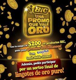 Bic argentina y una promoci n que vale oro el papel digital for Que es una beta de oro
