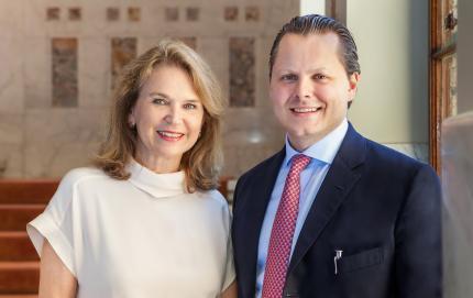 Mary y Charles von Faber Castell