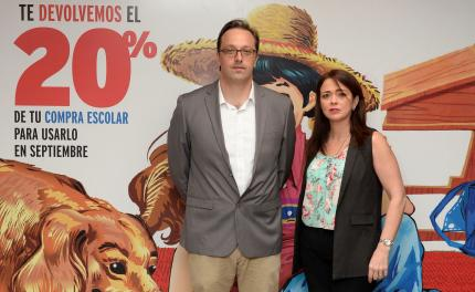 Hans Kuenh y Celeste Somoza / Jumbo