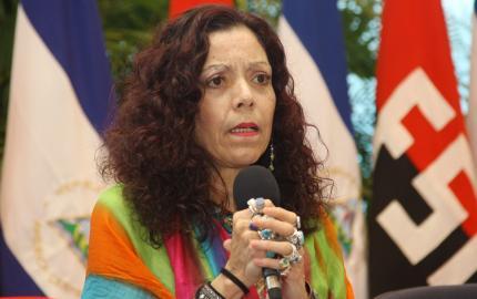 Rosario Murillo / vicepresidenta Nicaragua